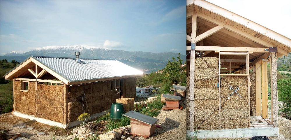 Casa di paglia centro studi giorgio muratore for Piani di casa di balle di paglia