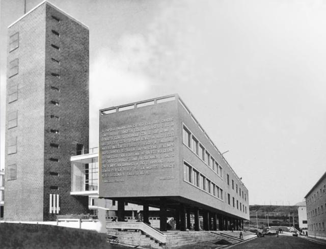 GUIDONIA casa del fascio (Giorgio Calza Bini, 1937)