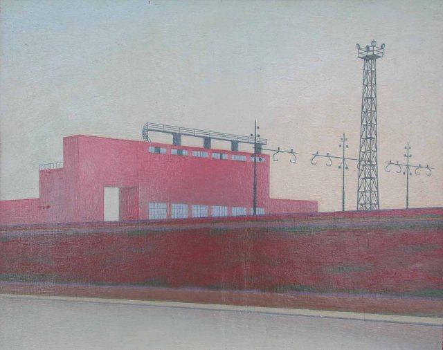 Cesare Dei -. Sulla ferrovia 1955
