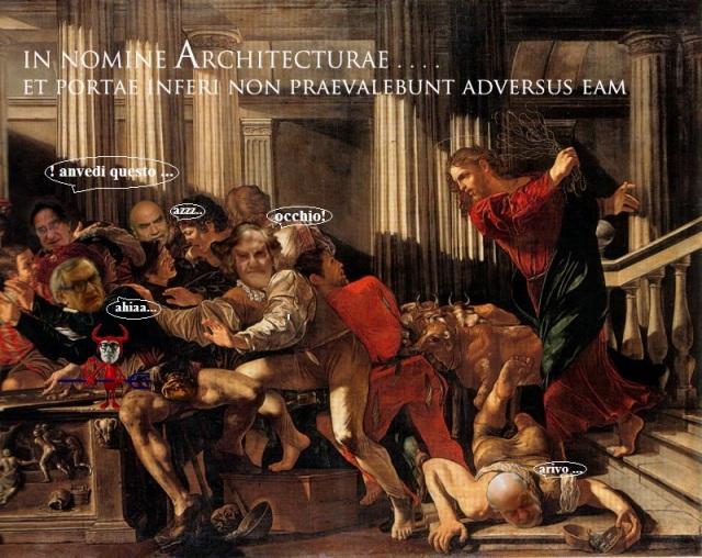 Il Maestro scaccia i chierici traditori 1111