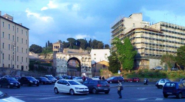 Roma-Foro-Boario.-Sulla-destra-il-palazzo-che-ospiterà-il-Museo-di-Alda-Fendi