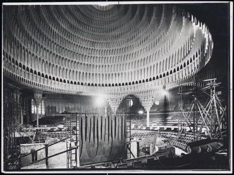 Poelzig Hans (1869-1936): Großes Schauspielhaus in Berlin (1919)