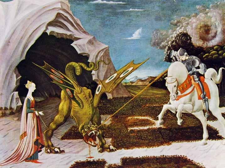 12 Paolo Uccello - San Giorgio e il drago