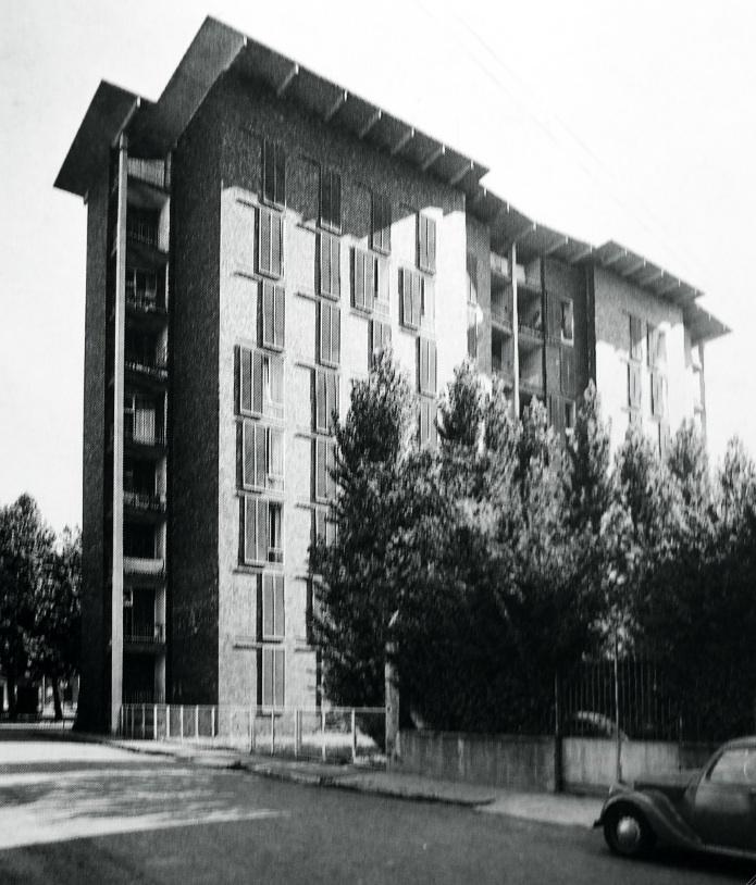 Ignazio gardella case borsalino novara centro studi for Casa borsalino gardella