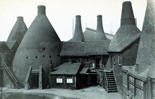 Original Bottle Kiln Ovens, Wedgwoods, Etruria