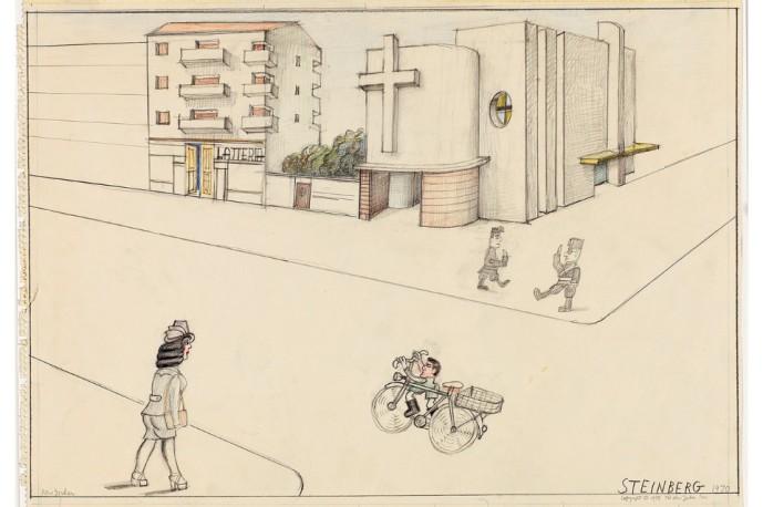 SAUL STEINBERG - VIA PASCOLI in 1937.jpeg