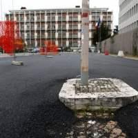 All'Eur asfalto sui sampietrini per i bolidi di Formula E ...