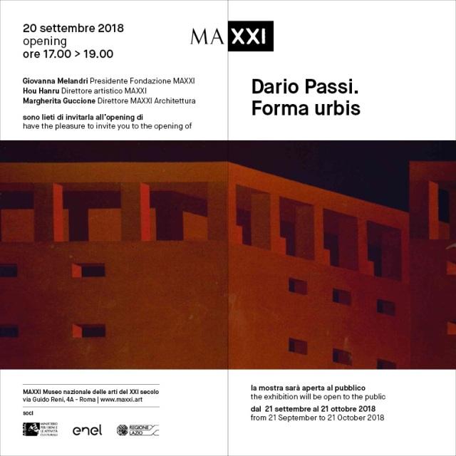 Dario Passi_opening_INVITO